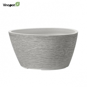 Chậu composite Oamaru (soft grey))