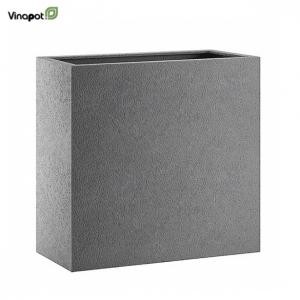Chậu composite Bronley (basalt grey)