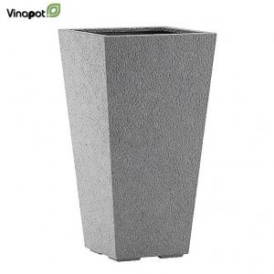 Chậu composite surrey màu đá xám (basalt grey)