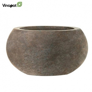 Chậu composite Celbridge (old stone brown)