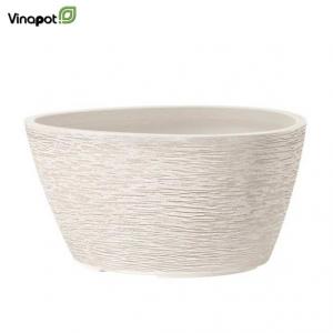 Chậu composite Oamaru (cream white)